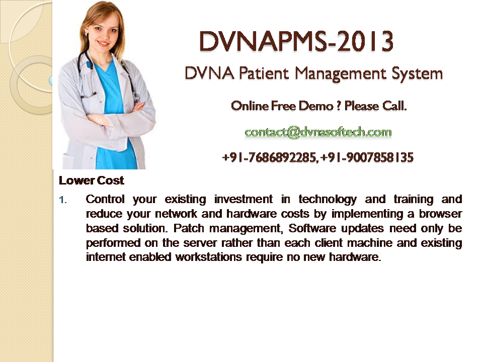 DVNAPMS-2013 | Low costing |